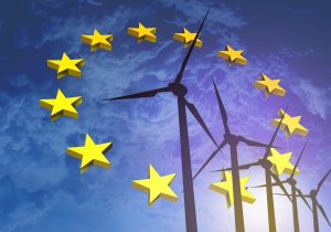 Eólicas en el cielo de Europa